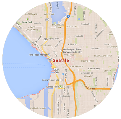 Seattle Garage Door Service Areas
